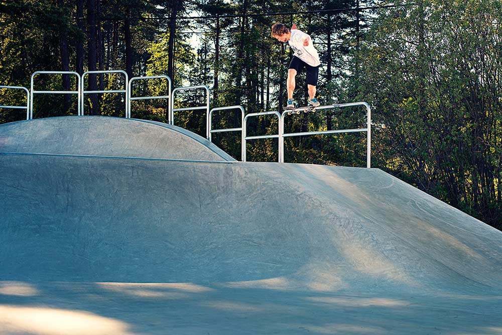 Axel Lindquist - Backside Tail.  Foto Anders Neuman