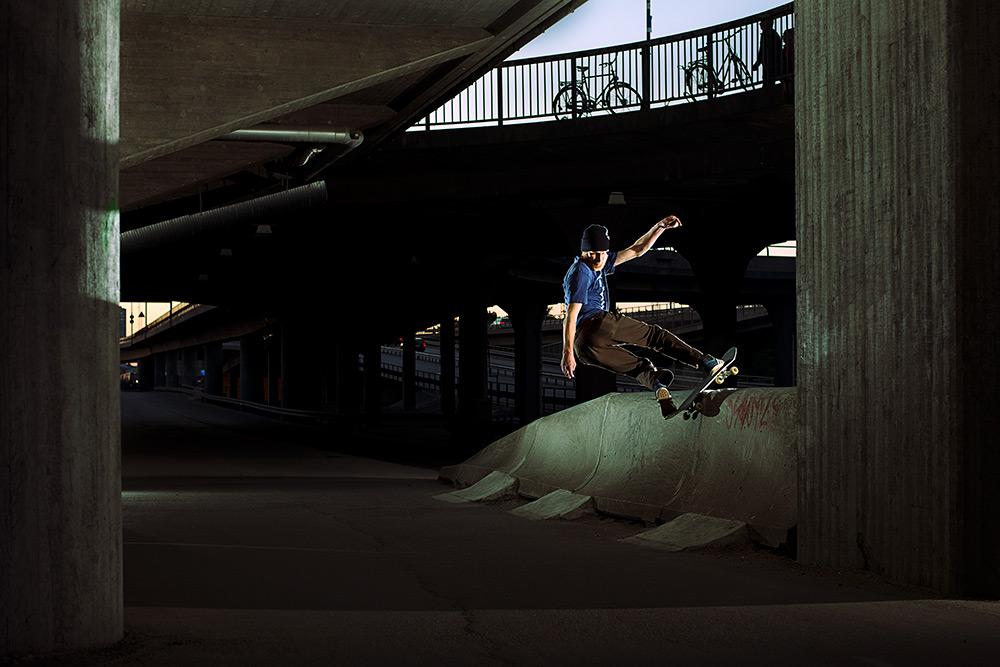 Fredrik Gustafsson - Fs Boardslide. Foto Anders Neuman