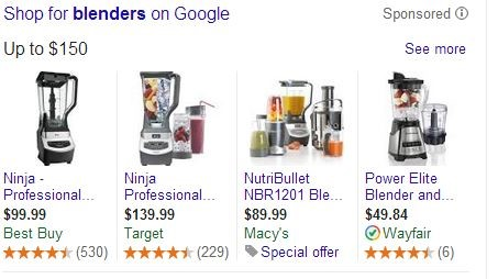 Google Shopping Special Offer