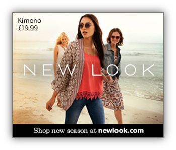 An example Display Ad for client, New Look