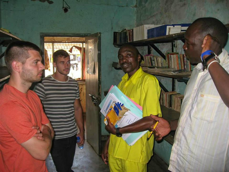 Summer '14: Mike from our PPC team visited prisoners in Uganda as part of a rehabilitation programme ran by Foundation Partner, Product of Prison