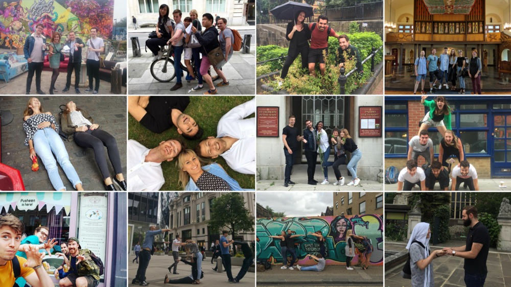 Summer '16: We donated and completed challenges around East London to raise money for Year Here
