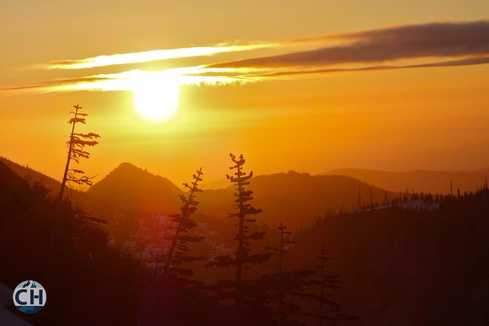 St Helens Sunset