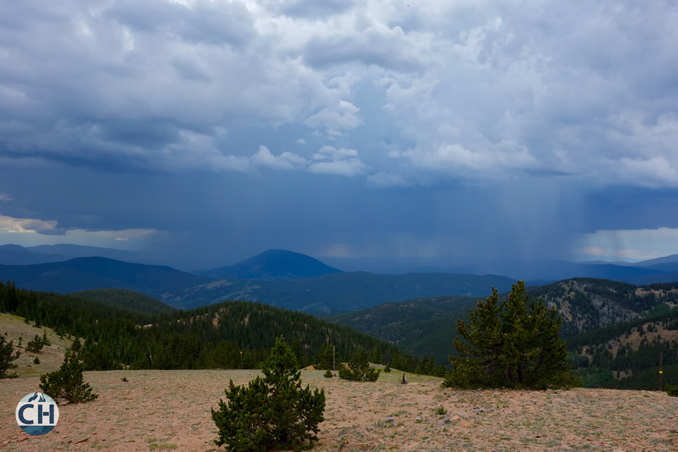 Thunderstorm photo. Colorado - CDT