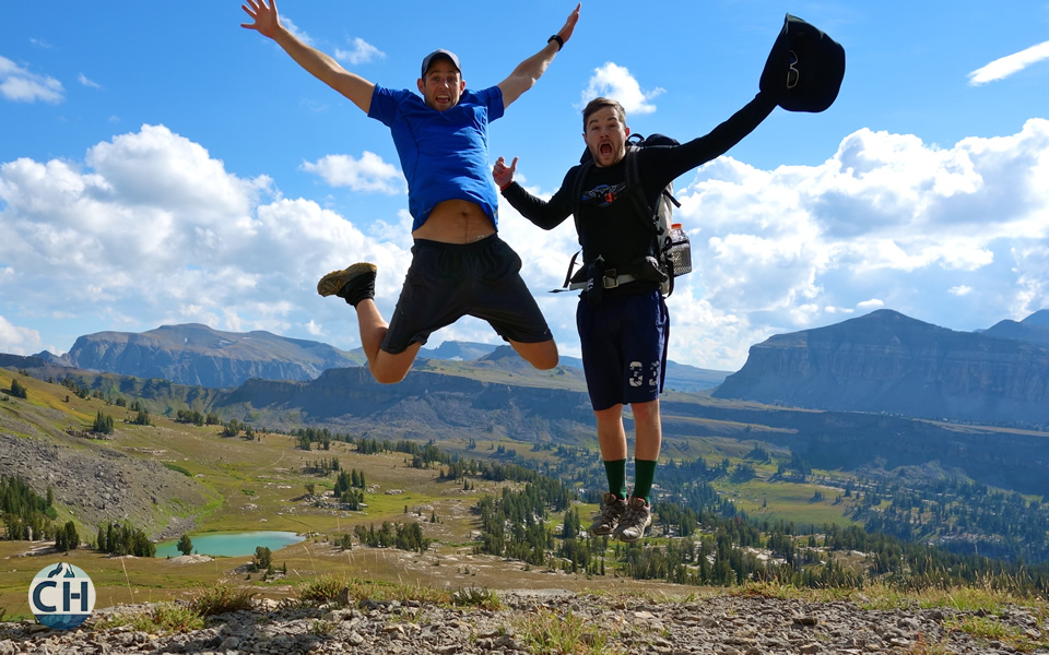 Jumping for Joy in GTNP