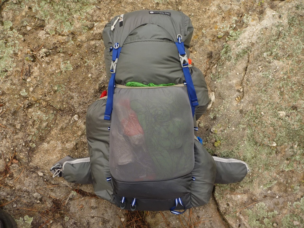 The 2014 Gossamer Gear Mariposa Backpack. Photo Credit: Southwest Ultralight