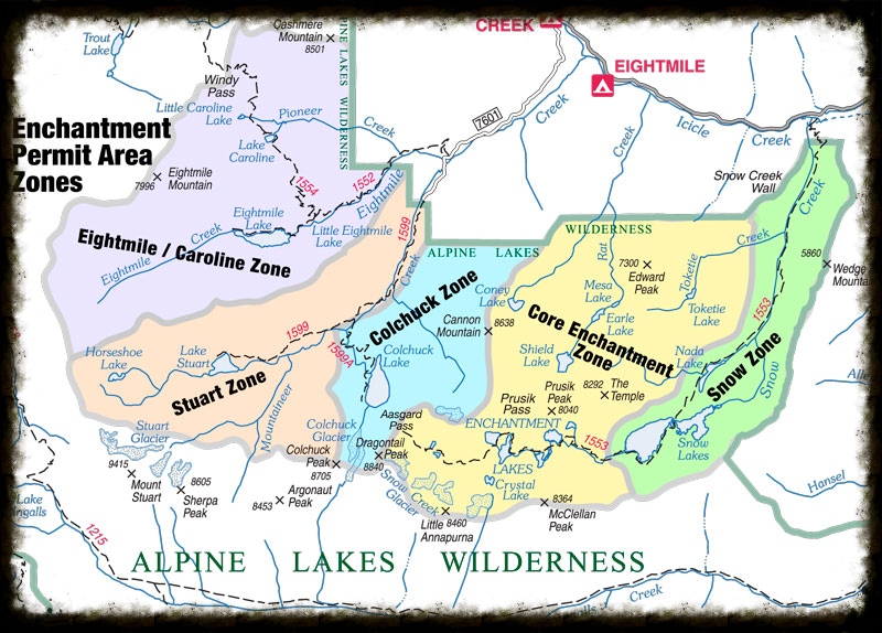 Permit Zones - Photo: USDA Forrest Service