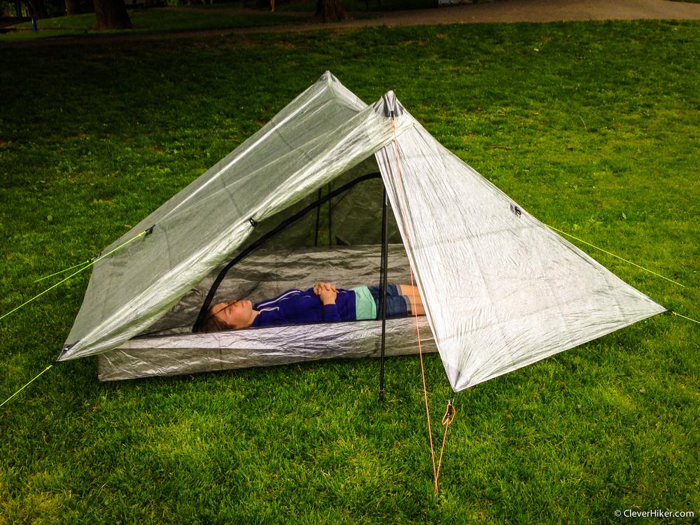 1 Tarp Tent With Floor And Door