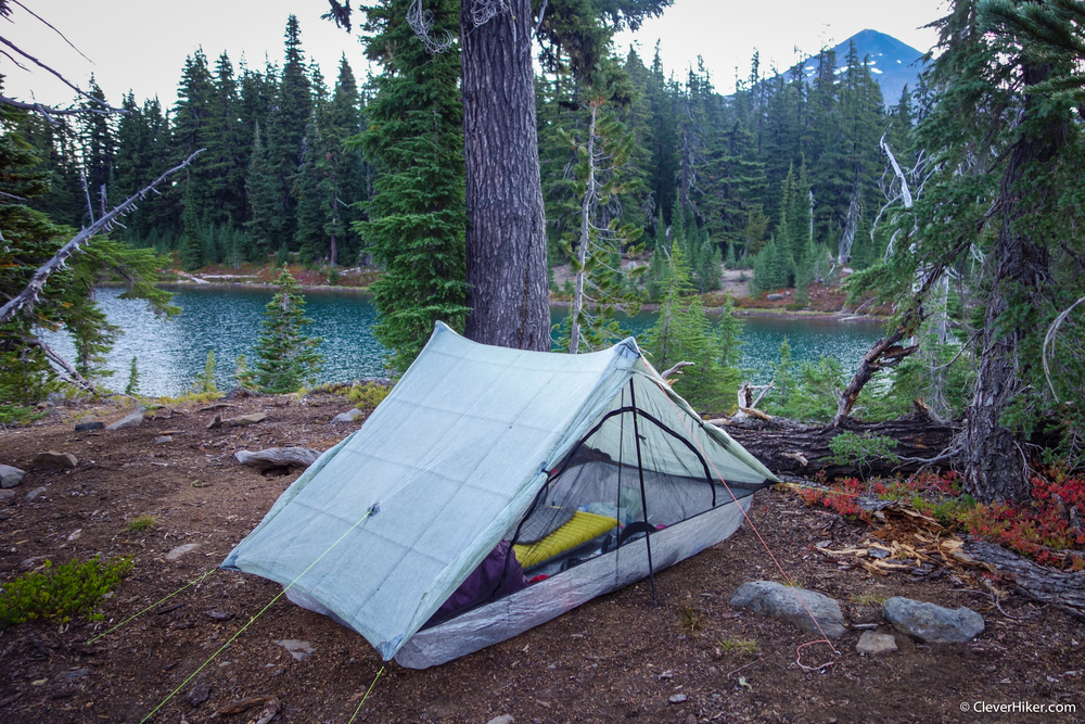 ZPacks Duplex. Husband Lake, Three Sisters Wilderness.
