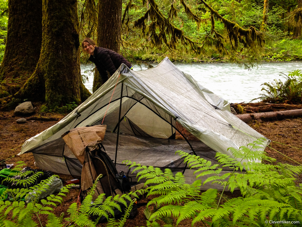 ZPacks Duplex Tent - Olympic National Park & ZPacks Duplex Tent Review u2014 CleverHiker