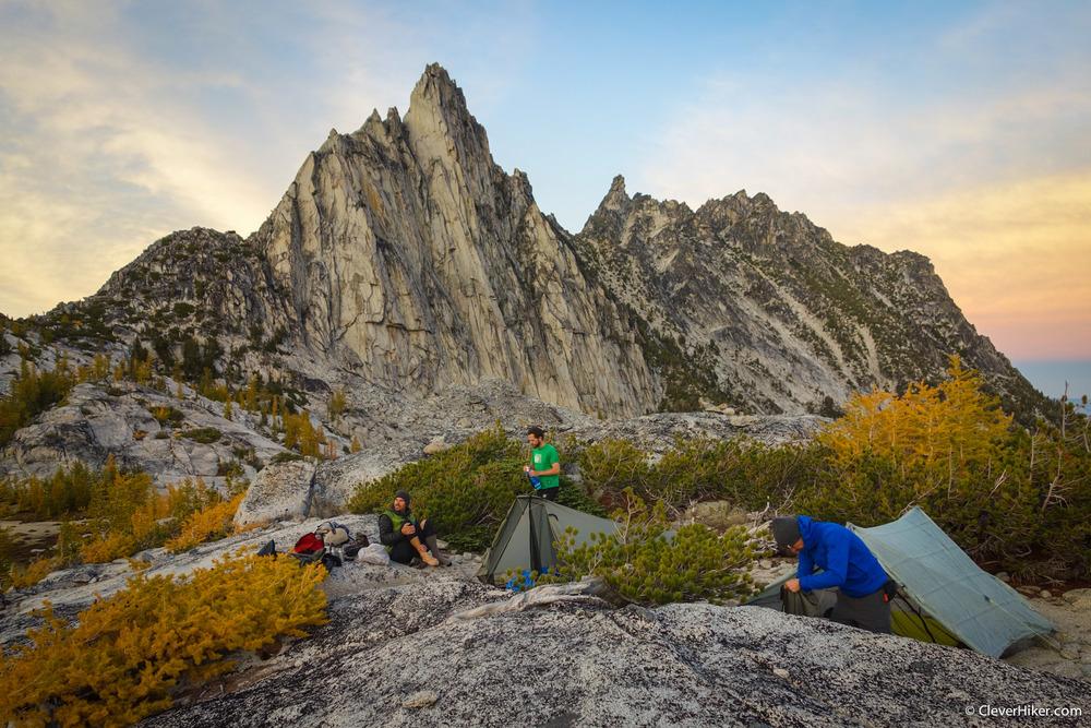 Enchantment Lakes Campsite