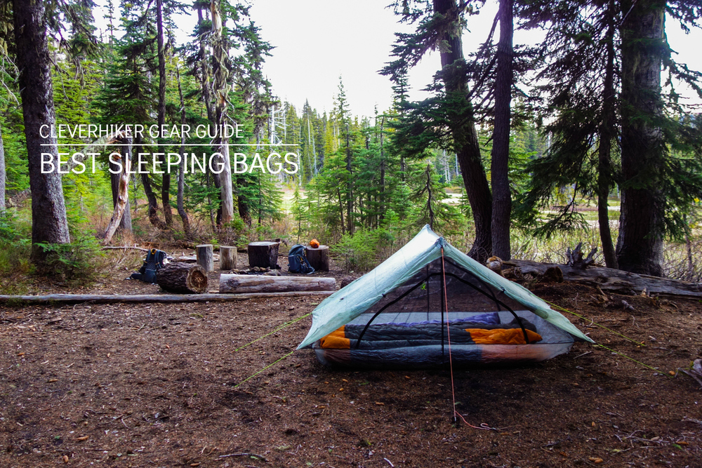 e7d511ba3c Updated Best Sleeping Bags - Gear Guide — CleverHiker