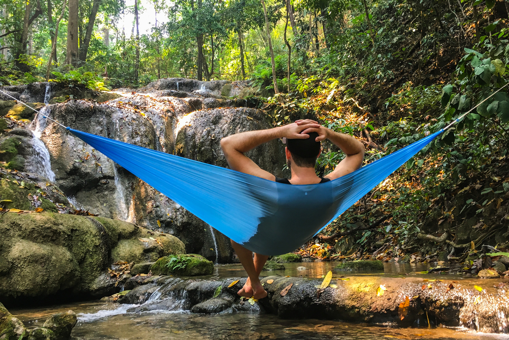 Hummingbird Single Hammock U0026 Tree Straps Review