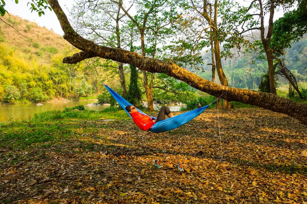 Hängematten Camping