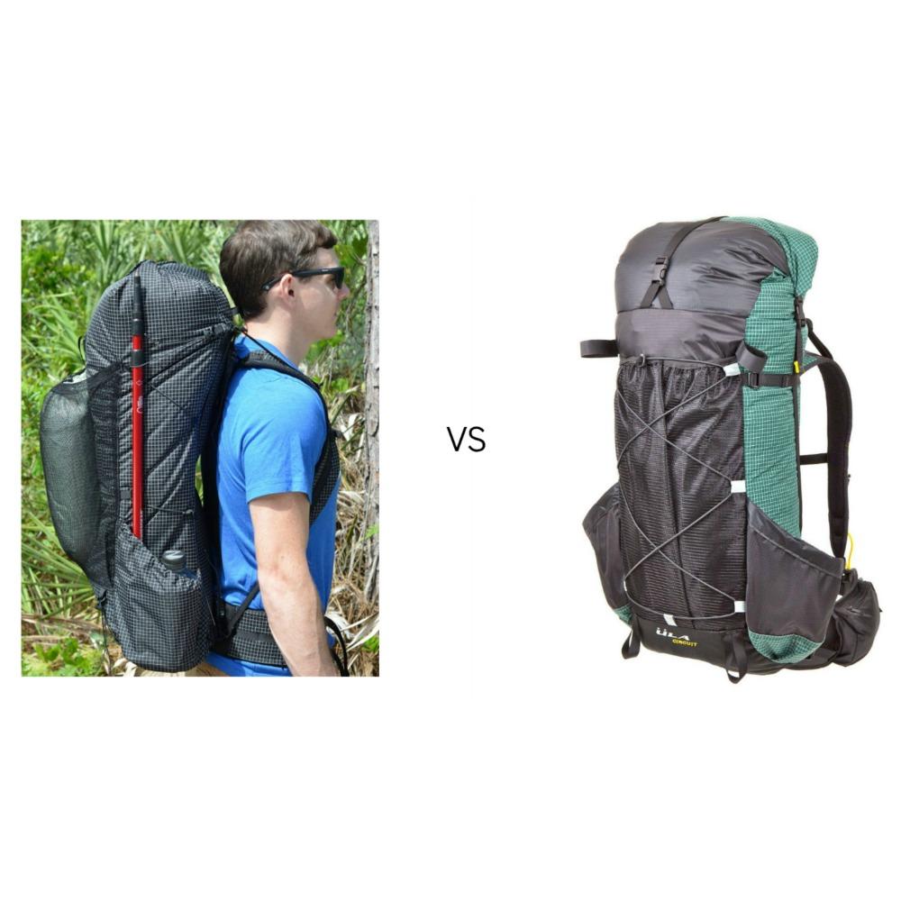 66f53912f1a4 ZPacks Arc Haul vs. ULA Circuit Backpack Review — CleverHiker