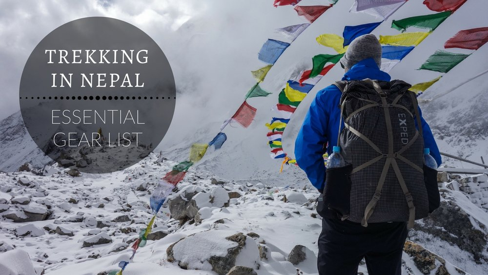 Nepal Trekking Gear Checklist What To Pack Cleverhiker