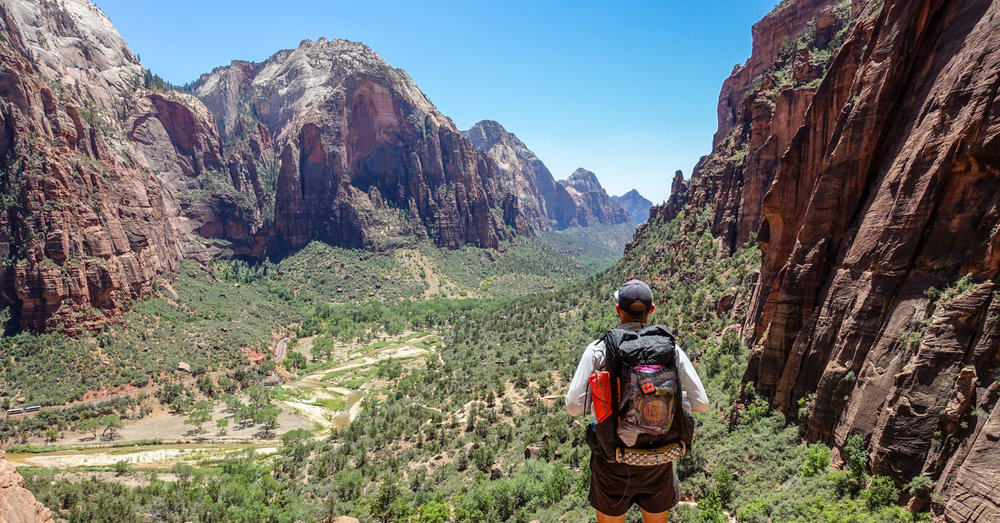 For an adventure that firmly grounds you in Zion National Park s  backcountry where few day hikers roam 211d3756bd16b