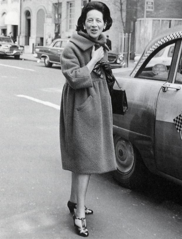 A elegância de Diana Vreeland -Fonte: www.dianavreeland.com