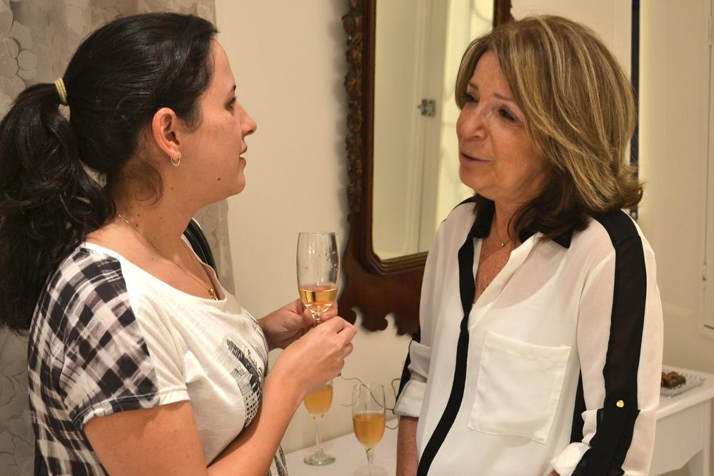 Erica Barbosa e Fernanda Linguanotto Biasi.