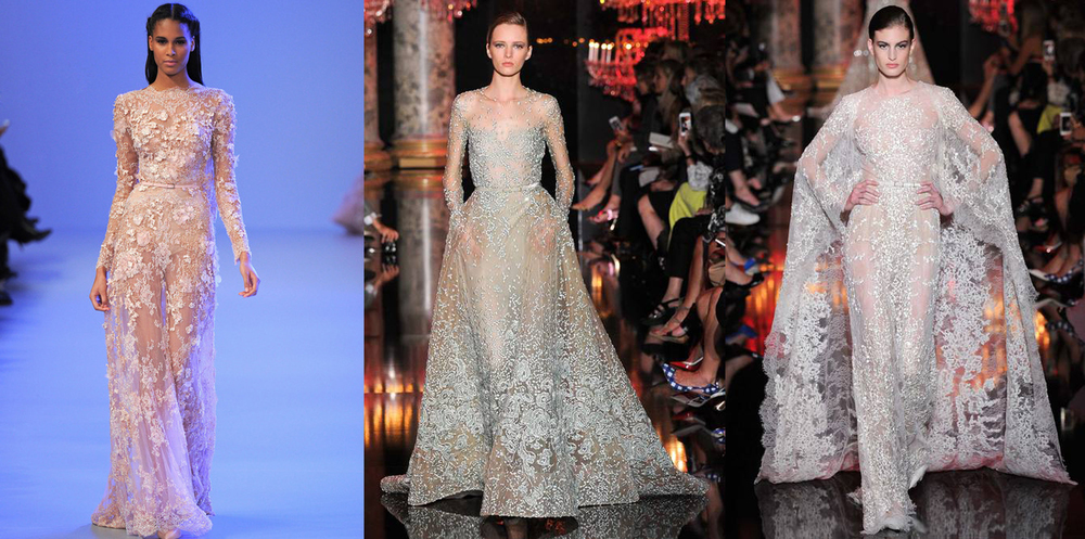 Style.com  - Elie Saab  - SPRING 2014 COUTURE - FALL 2014 COUTURE