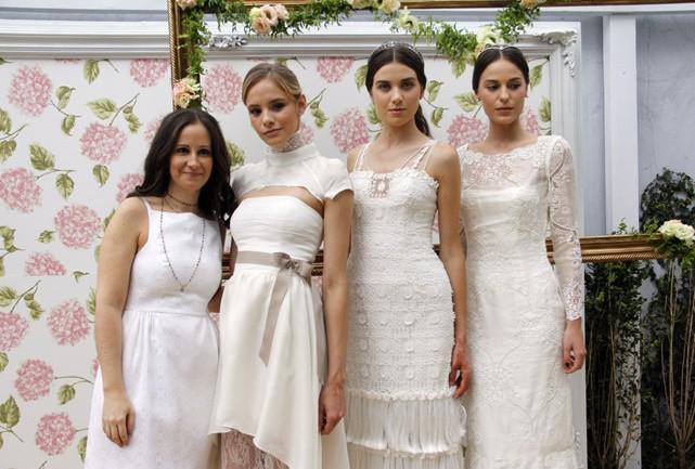 As noivas com a estilista - Foto: Carol Cairo/Bazaar