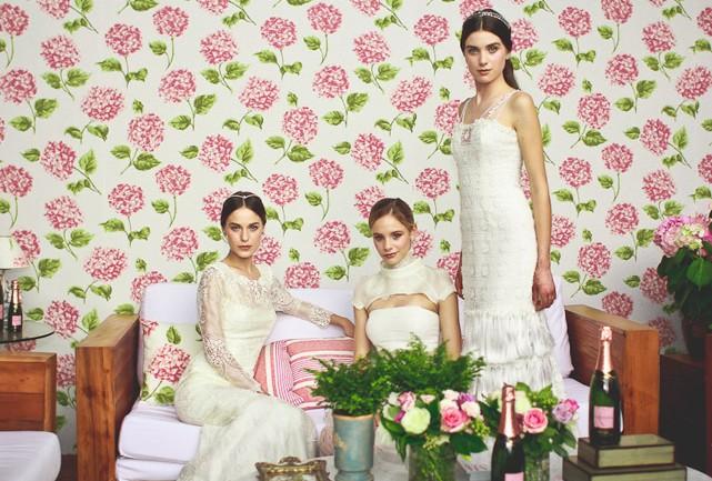 As nossas lindas noivas vestidas pela estilista Mariana Biasi - Foto: Arthur Vahia/SiteRG