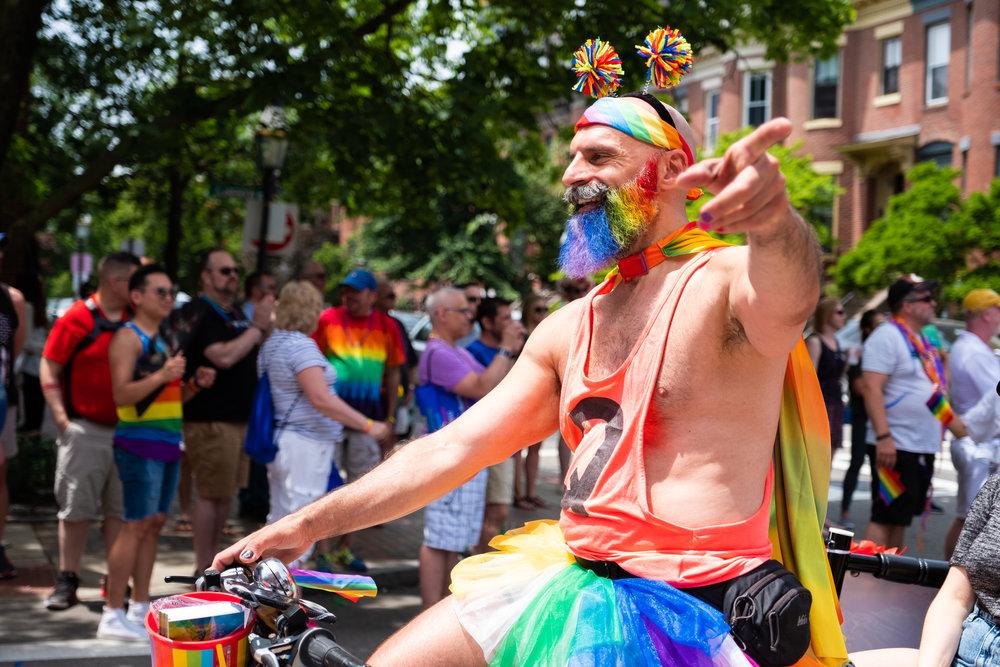Boston's Pride Parade - June 2018