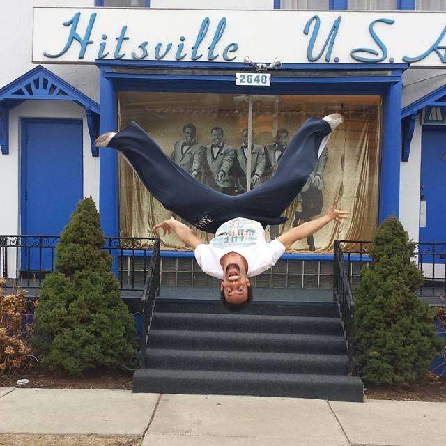 At Hitsville on tour, last date of this leg is Detroit, auspiciously. #chertour #hitsville #notownlikemotown #getreadymotown  #dance #gymnast