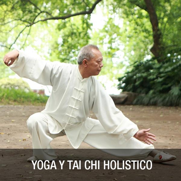 Tai Chi y Yoga Holisticos