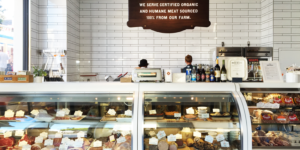 The counter at Belcampo Meat Co. in San Francisco's Russian Hill. | Photo by Cassandra Landry