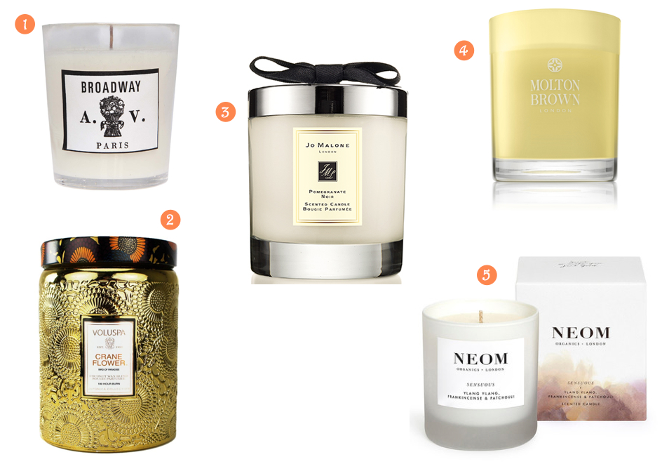 Luxury candles worth forking out for samantha lennie therapy for Best scented candle brands