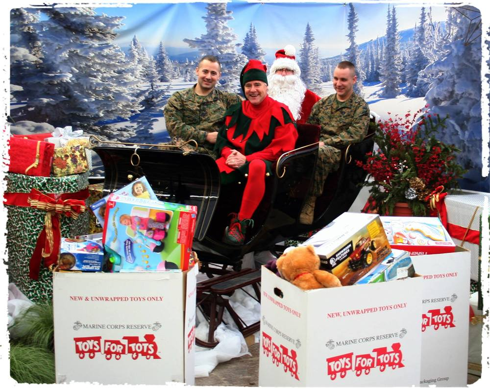 Toys For Tots with Marines