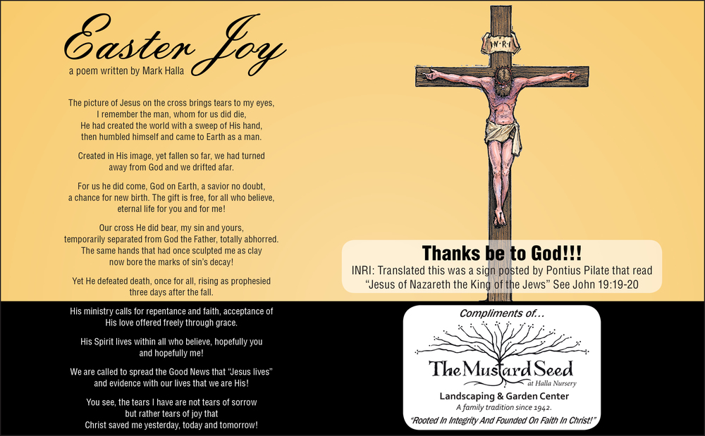Easter Joy Poem