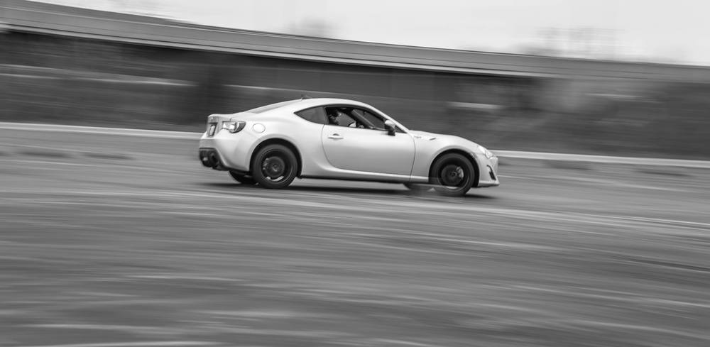 FRS guy taking a lap at a WCMC autocross event