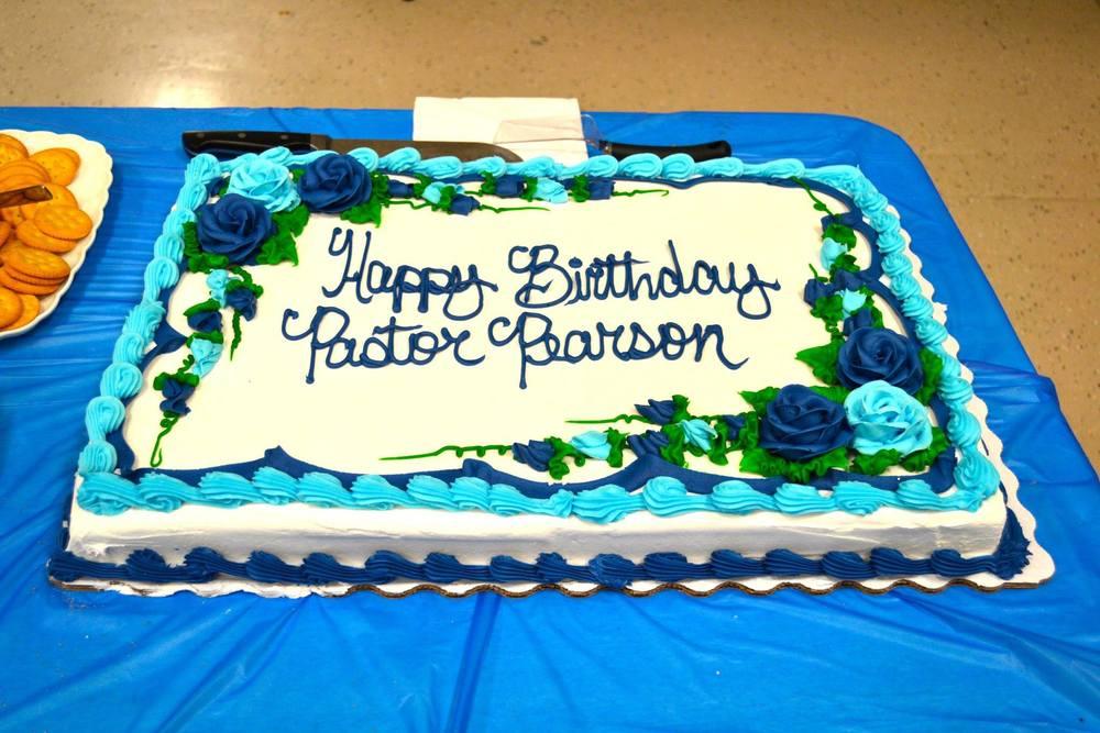 Pastor Pearson's 51st Birthday