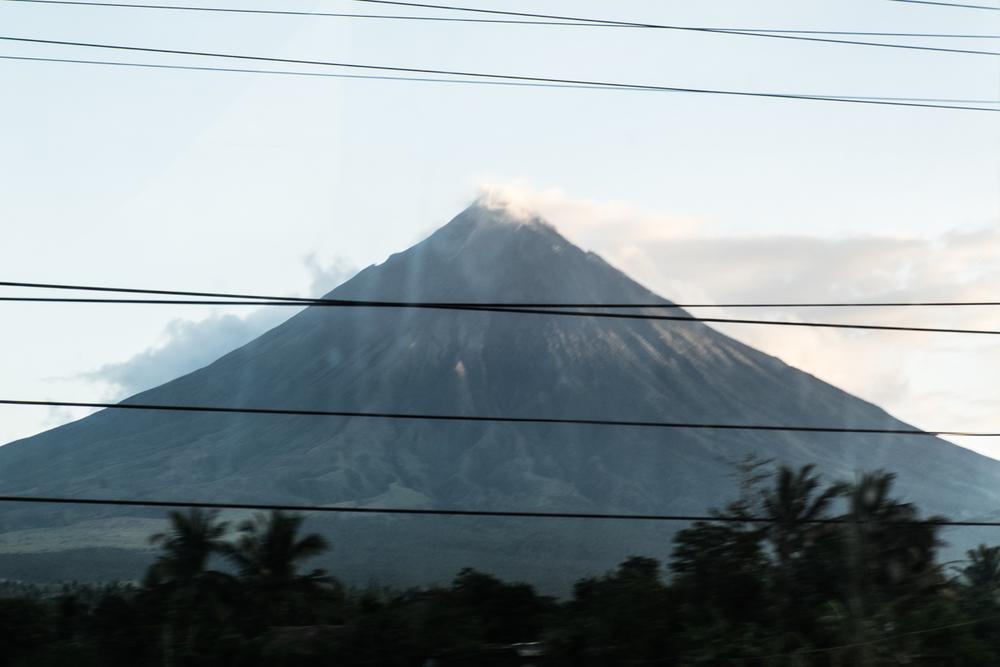 Legazpi, mount Mayon