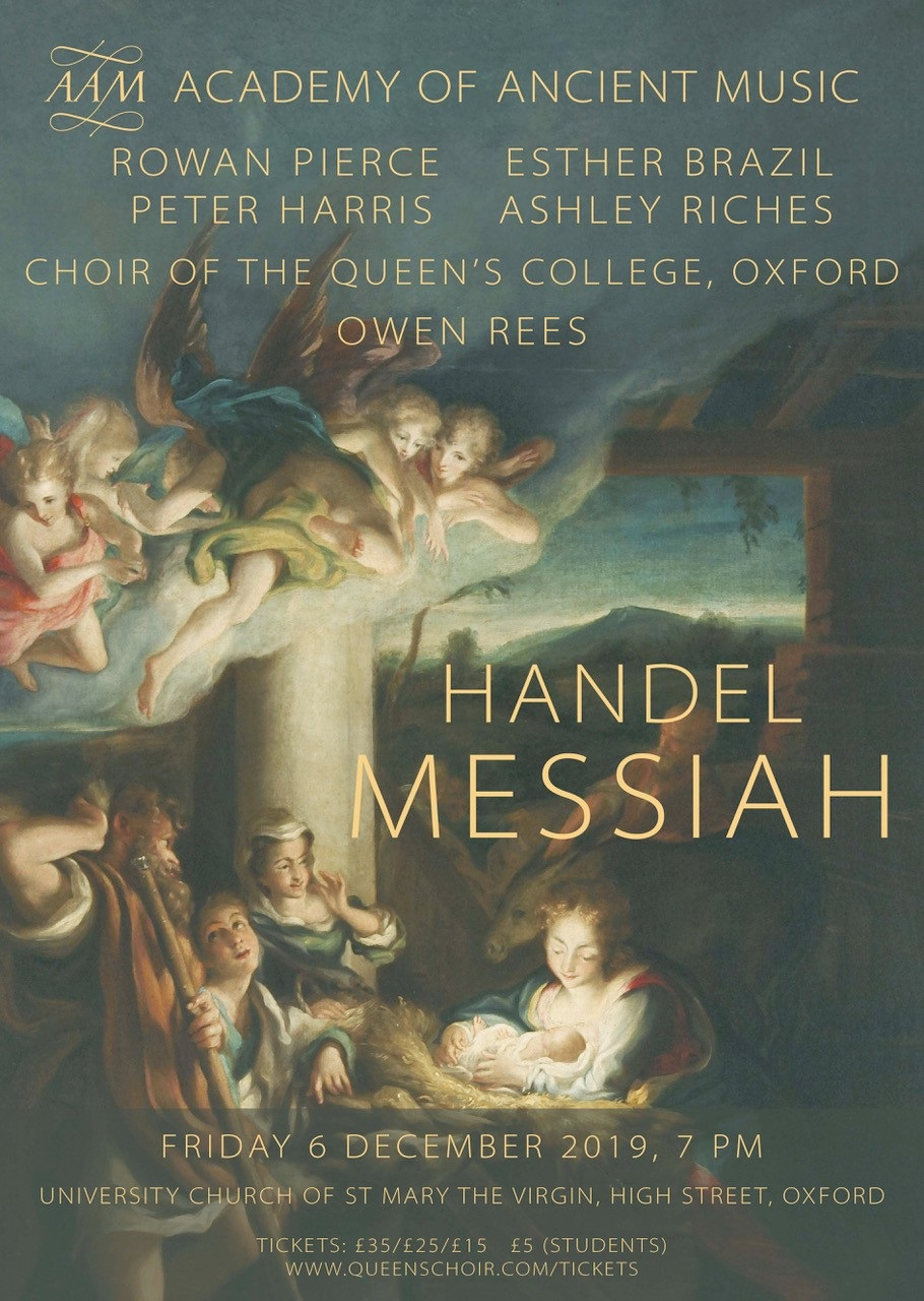 Forthcoming Performances — Choir of The Queen's College, Oxford