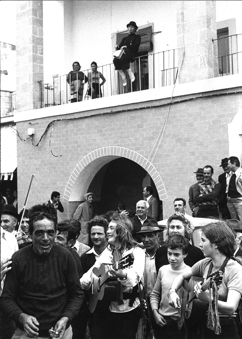 With Odin teatret in Southern Italy (1974 - 1975)