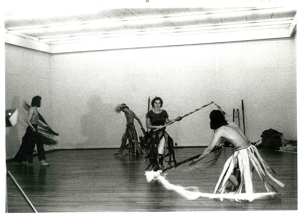 Acting student at Odin teatret (1973 - 1975)