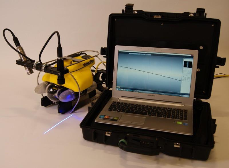 ROV mounted C-Gauge laser measurement system
