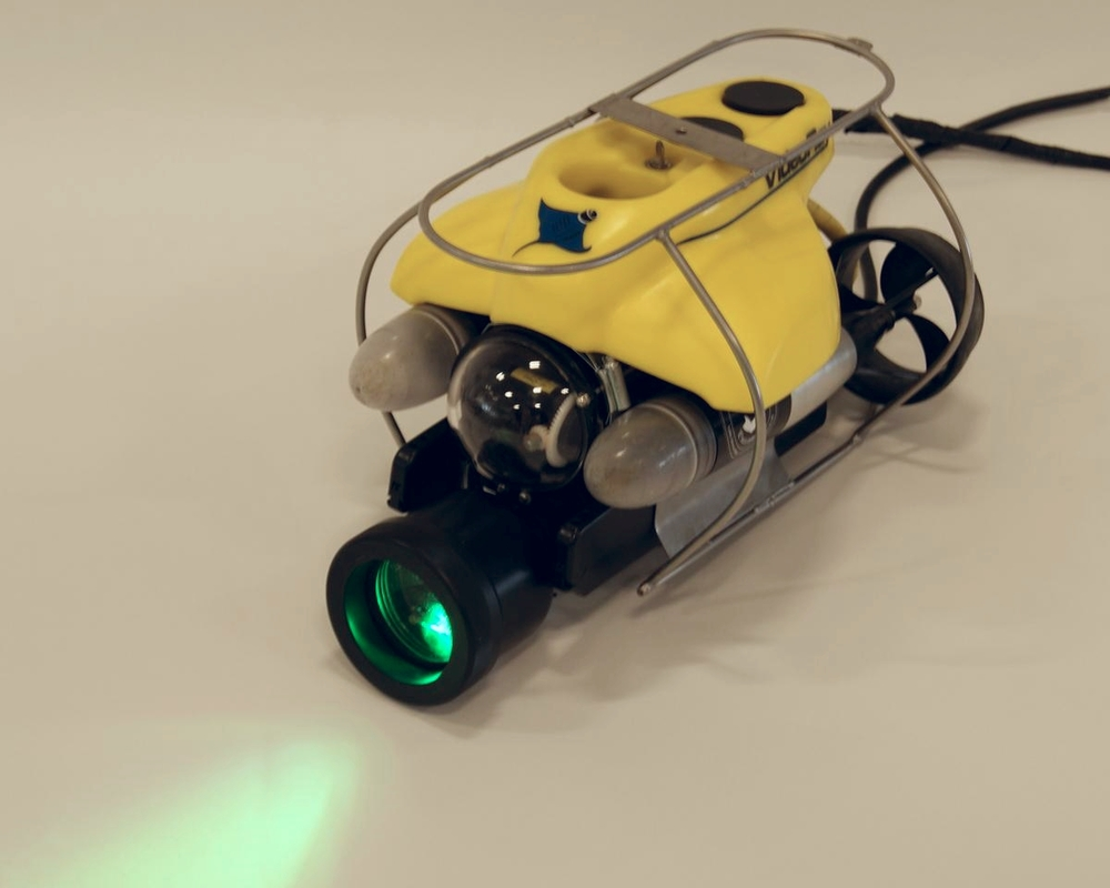 ROV mounted OceanSENSE leak detection system