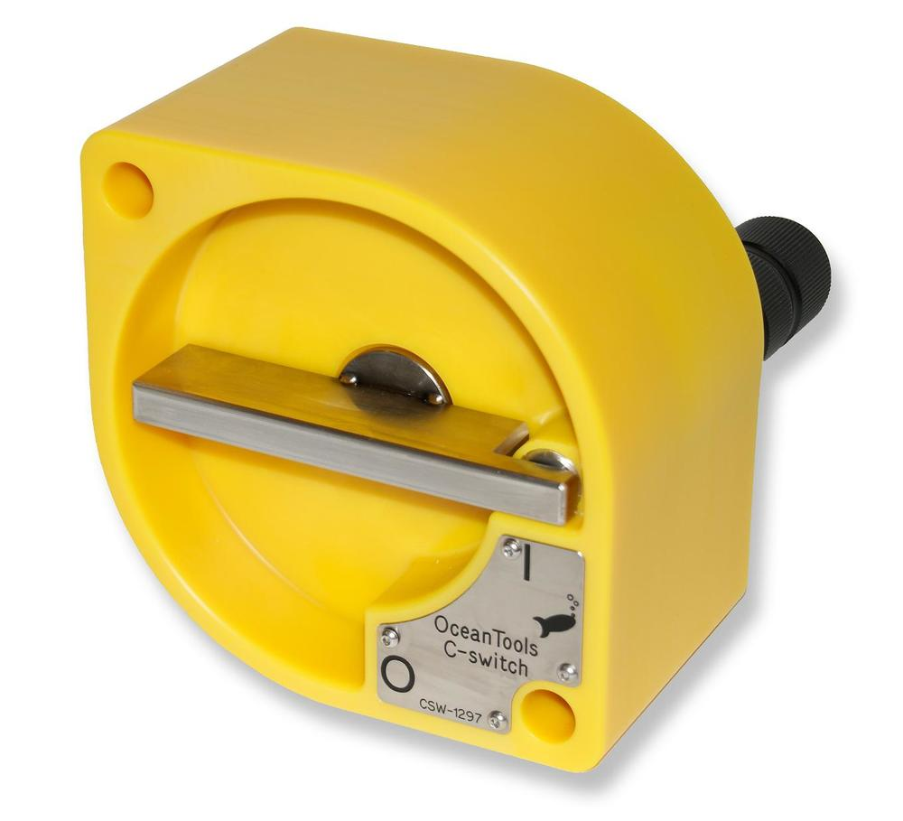 C-Switch ROV or subsea diver operated underwater on/off switch
