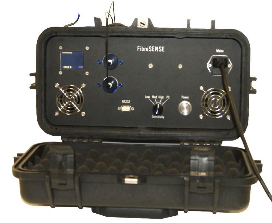 FibreSENSE fiber optic leak detection topside controls