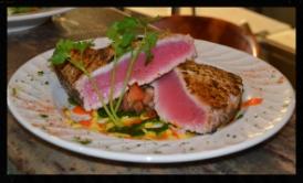 Seared Pepper Encrusted Tuna