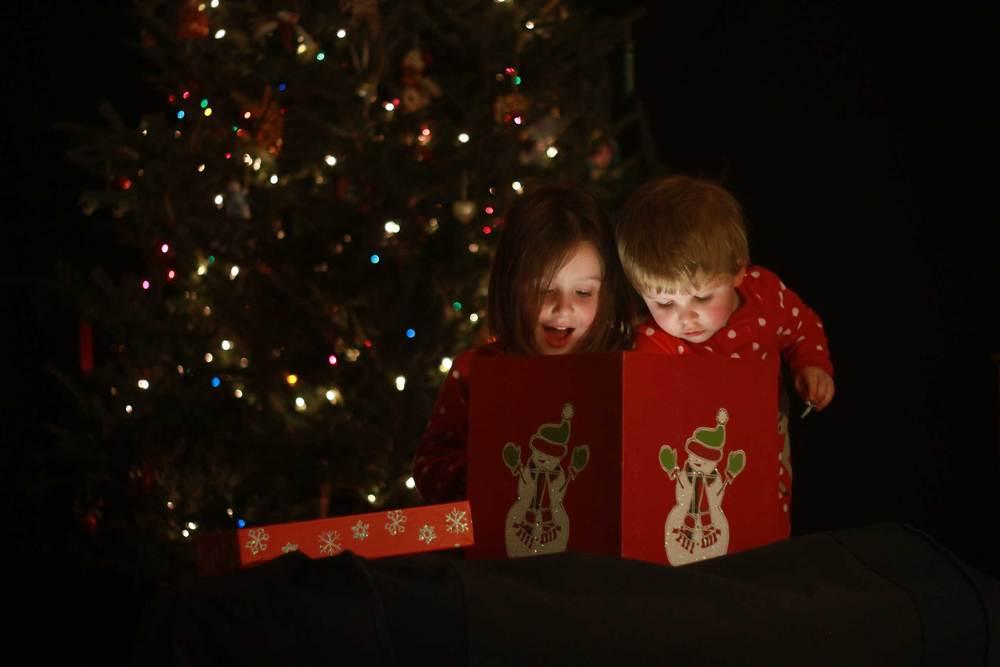 Anya & Drew, Christmas 2012