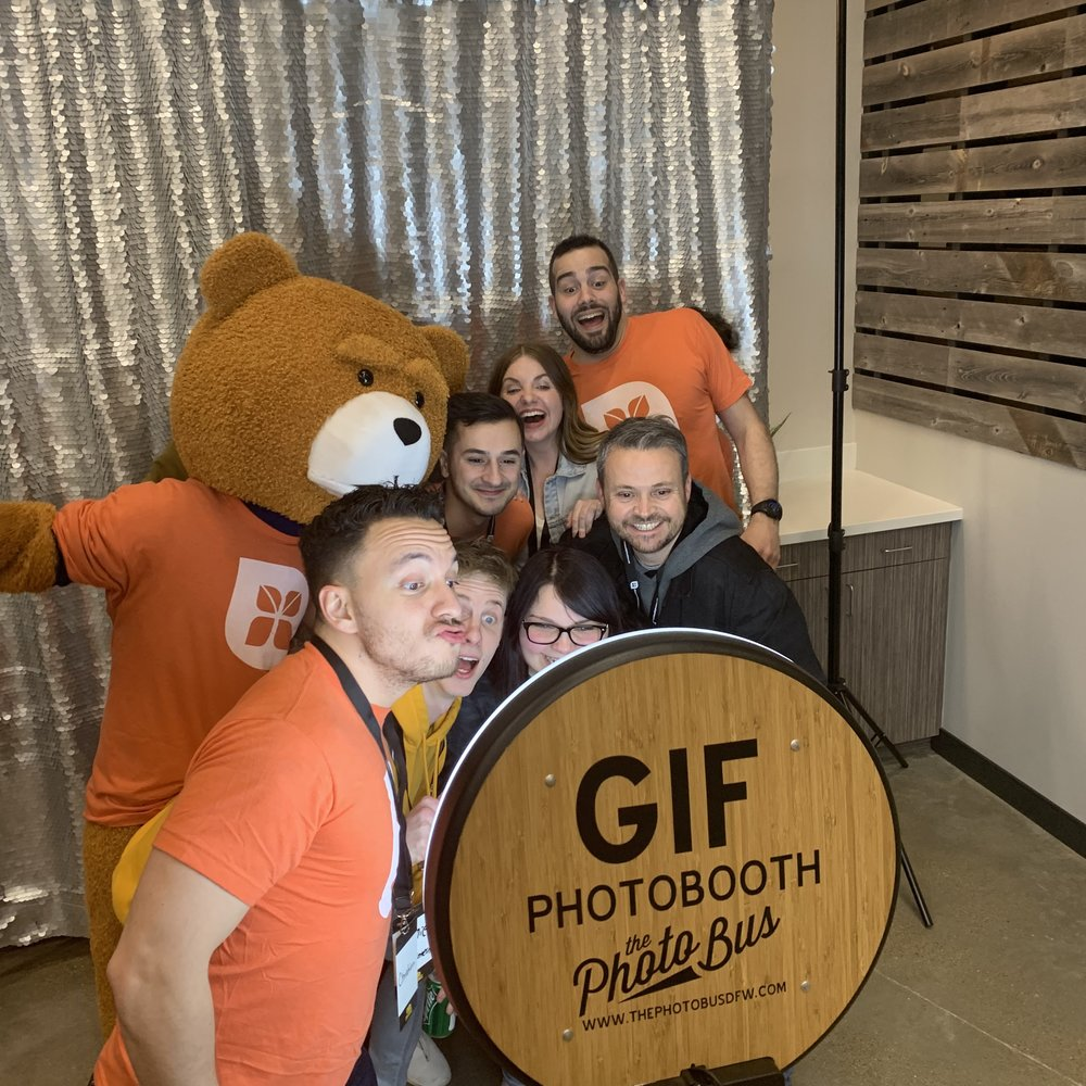 Dallas area church photo booth ideas