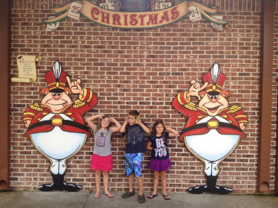 Second Day of Christmas- Two Tweedledees as seen in picture from 2013