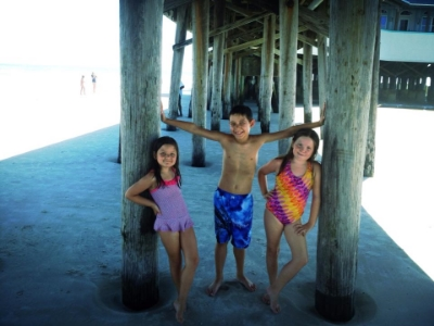 Under the Pier at Daytona Beach