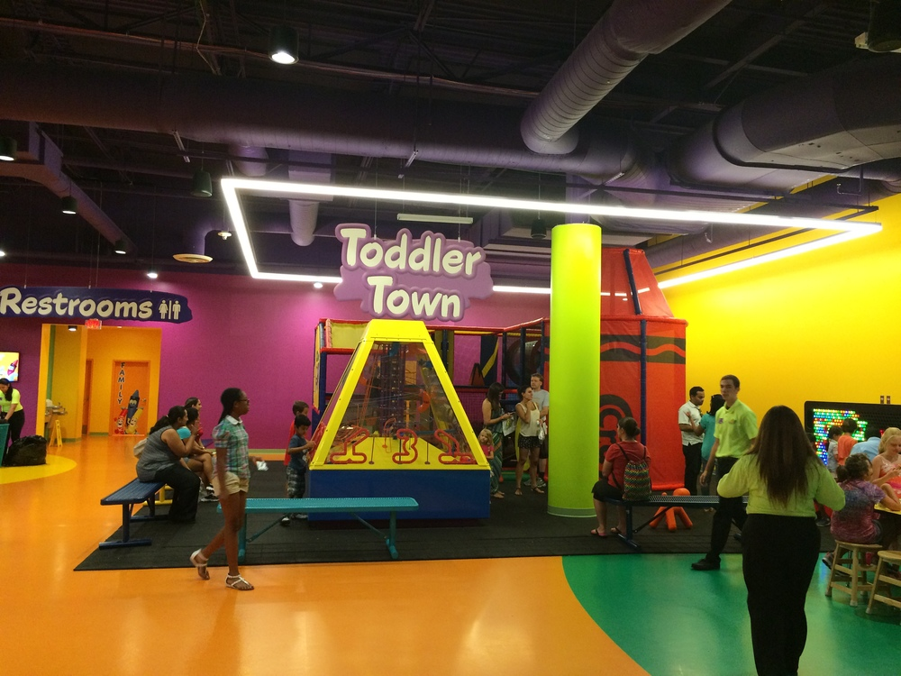 Crayola Experience Orlando, FL TODDLER TOWN