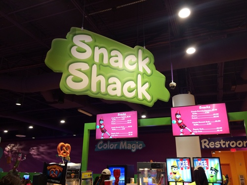 Crayola Experience Orlando, FL SNACK SHACK